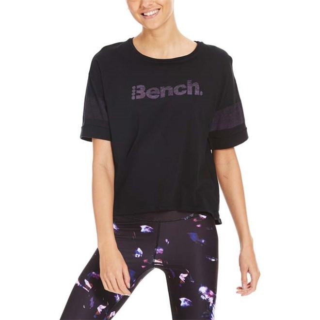triko BENCH - Cropped Tee Black Beauty (BK11179)