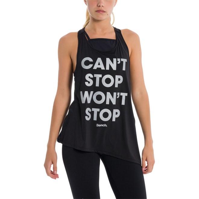 tílko BENCH - Can`T Stop Won`T Stop Black Beauty (BK11179)