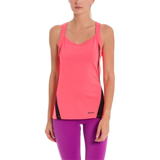 tílko BENCH - Active Tank Top Neon Bright Pink As Swatch (PK11423)