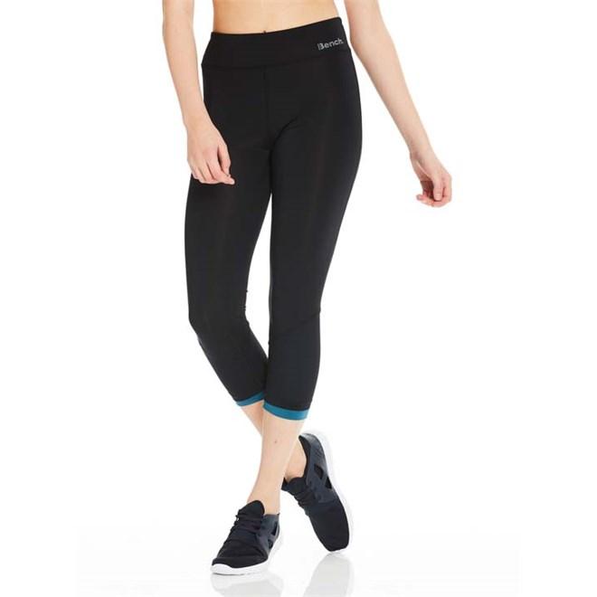 kalhoty BENCH - Fabric Mix Crop Black Beauty (BK11179)