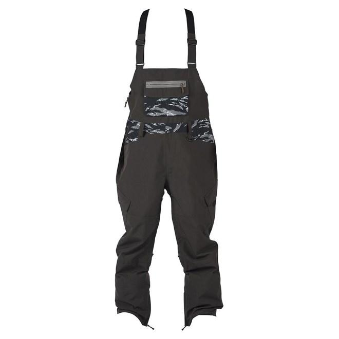 kalhoty SESSIONS - Bleach Bib Black (BLK)