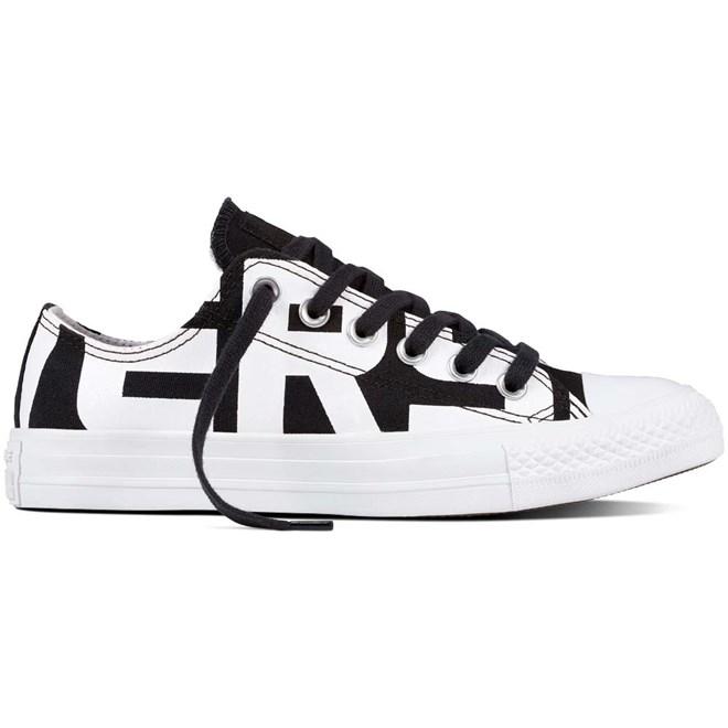 boty CONVERSE - Chuck Taylor All Star Black/White/White (BLACK-WHITE-WHITE)