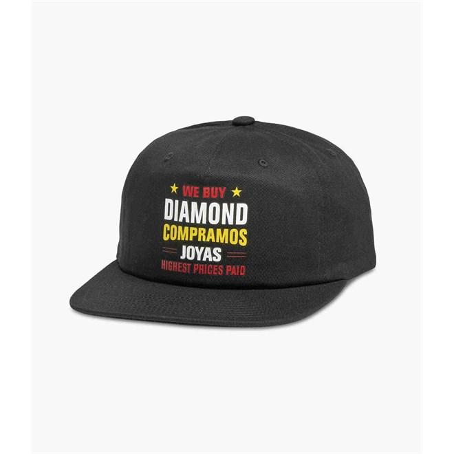 kšiltovka DIAMOND - Jewlers Row Snapback Black (BLK)