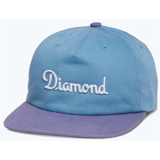 kšiltovka DIAMOND - Champagne Strapback Fl 17 Blue (BLU)