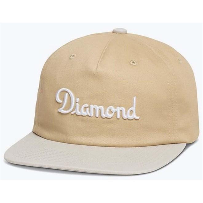 kšiltovka DIAMOND - Champagne Strapback Fl 17 Khaki (KHAK)