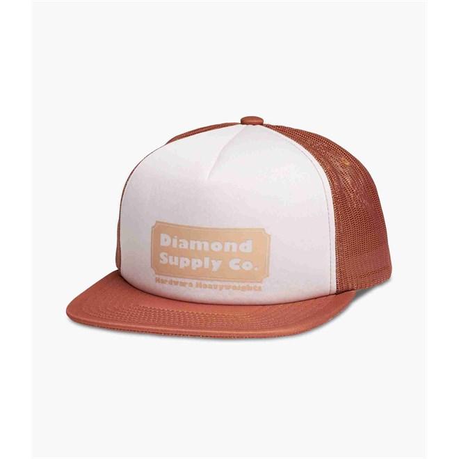 kšiltovka DIAMOND - Hardware Trucker Hat W/ Rope Brown (BRN)