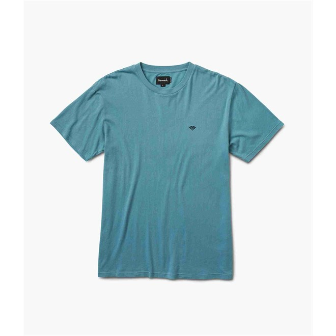 triko DIAMOND - Brilliant Slub T-Shirt Blue (BLU)