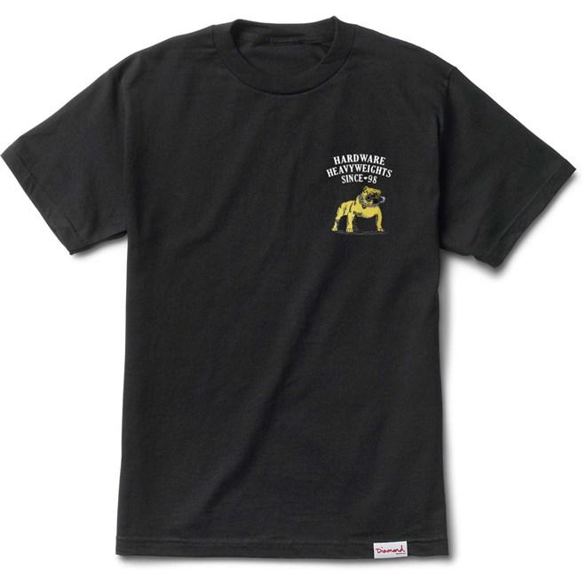triko DIAMOND - Bulldogs S/S Tee Black (BLK)