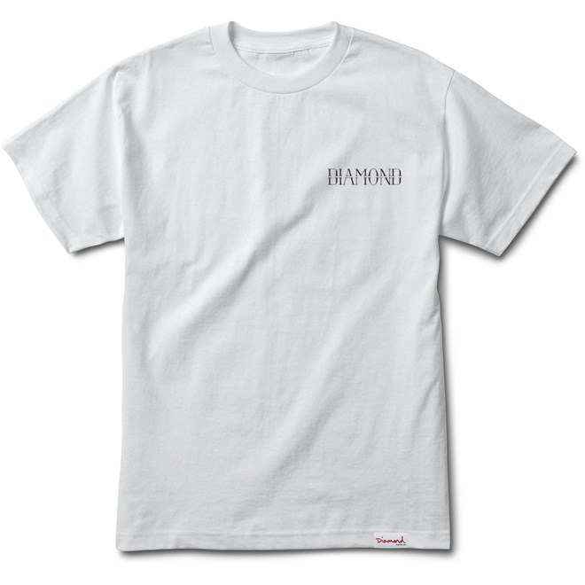 koszulka DIAMOND - Split S/S Tee White (WHT)