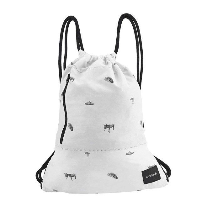 gymsack NIXON - Everyday Cinch White/Black (127)