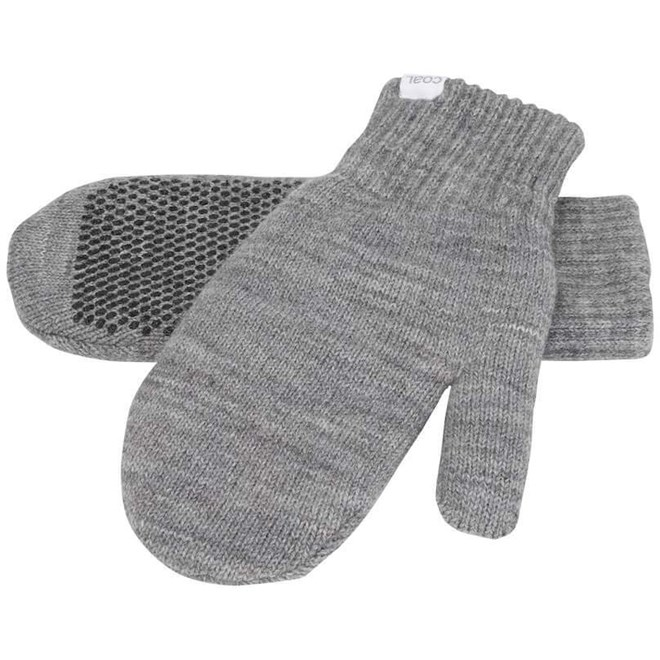 rukavice COAL - The Crosby Mitten Heather Grey (01)
