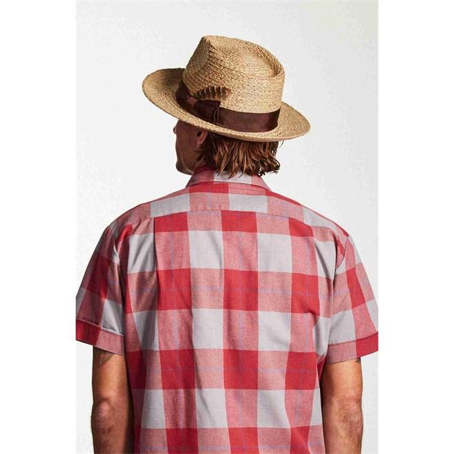 ff820e9e187 Hat BRIXTON - Crosby Fedora Tan (TAN). Obrázek 3 Obrázek 3