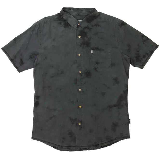 košile RIP CURL - Tye And Dye Black  (0090)