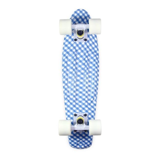 cruiser STEREO - Vinyl Plastic Cruiser Picnic Blue (BLU WHT)