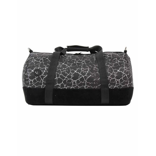 cestovní taška MI-PAC - Duffel Cracked Black/Silver (120)