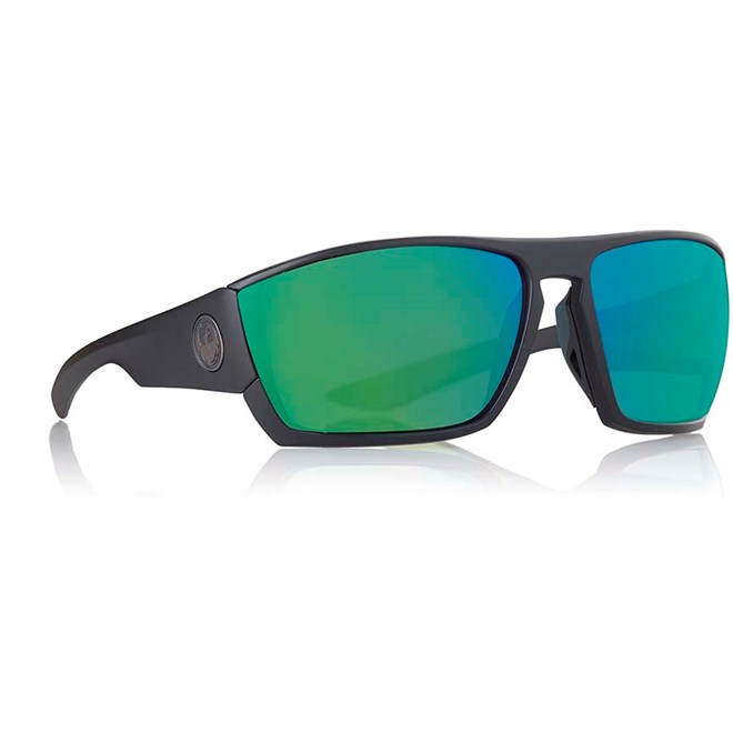 Sonnenbrille DRAGON - Cutback Ion Matte Black Green Ion (007)