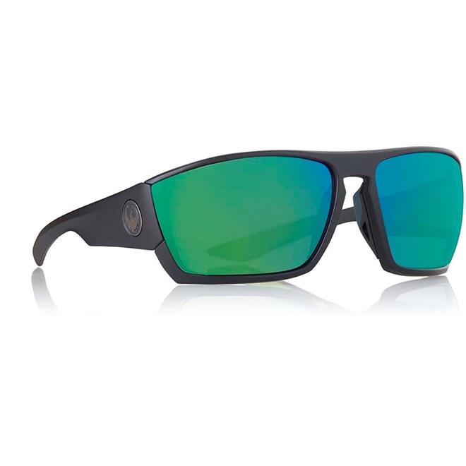 sluneční brýle DRAGON - Cutback Ion Matte Black Green Ion (007)