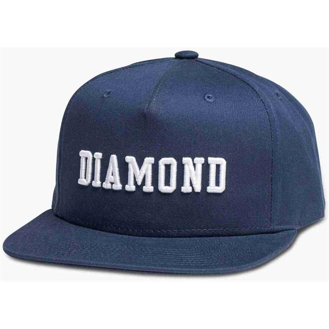 kšiltovka DIAMOND - Fordham Snapback Navy (NVY)