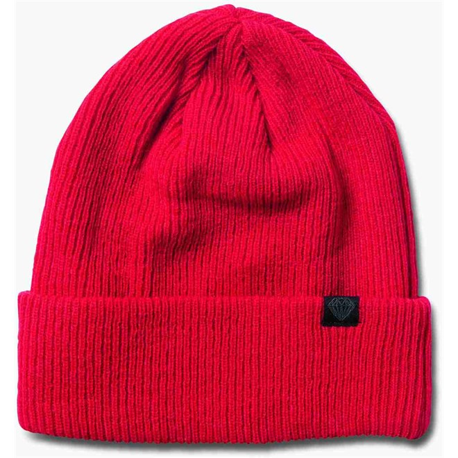 kulich DIAMOND - Brilliant Knit Beanie Red (RED)