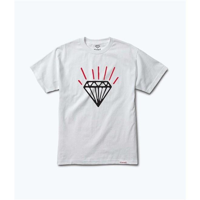 triko DIAMOND - Gem Tee White (WHT)