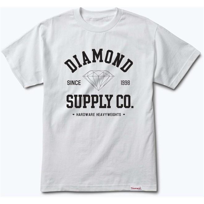 triko DIAMOND - Athletic Tee White (WHT)