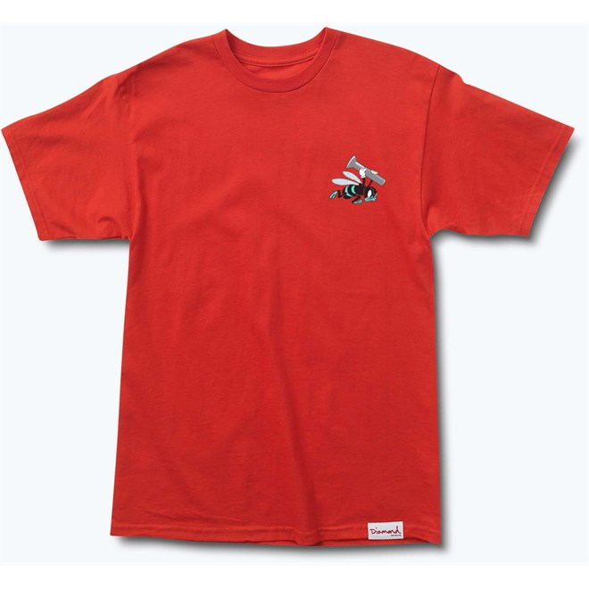 triko DIAMOND - Blue Hornets Tee Red (RED)
