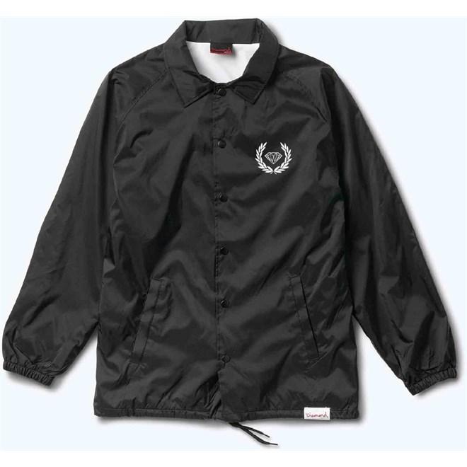 bunda DIAMOND - Brilliant Crest Coaches Jacket Black (BLK)