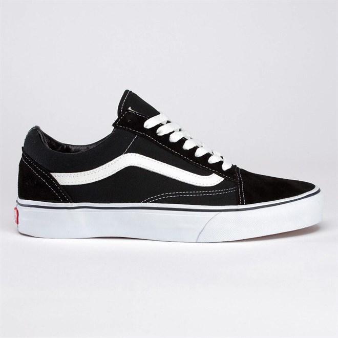 718d2948c9 topánky VANS - Old Skool Black White (Y28) veľkosť  44