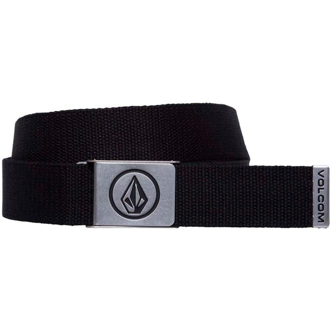 pásek VOLCOM - Circle Web Black (BLK)