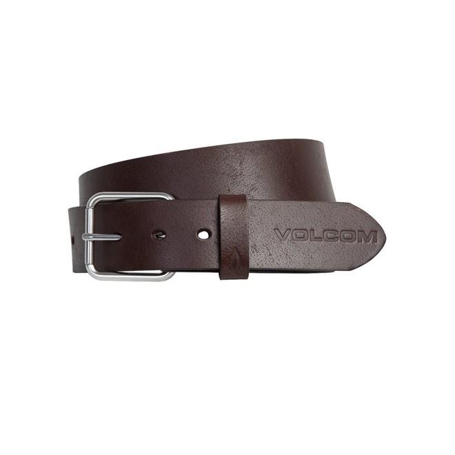pásek VOLCOM - Effective Lth Belt Brown (BRN)