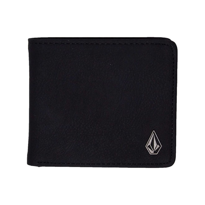 peněženka VOLCOM - Slim Stone Pu Wlt Black (BLK)