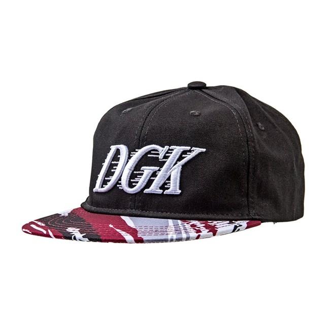 kšiltovka DGK - Fastbreak Snapback Black (BLACK)