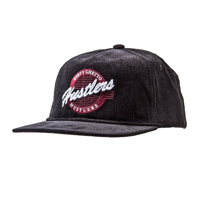 kšiltovka DGK - Hustlers Snapback Black (BLACK)