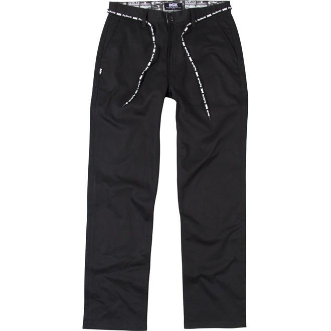 kalhoty DGK - Street Chino Black (BLACK)