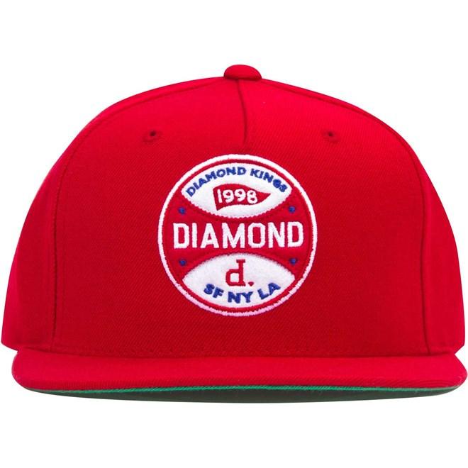 kšiltovka DIAMOND - Diamond Kings Red (RED)