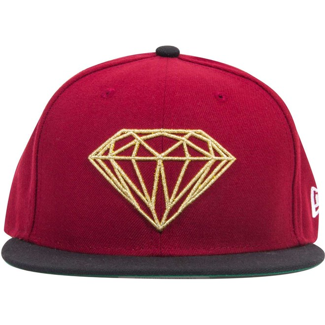 211e0c50670 kšiltovka DIAMOND - Brilliant Fitted Red Gold (RDGD) velikost  7 1 2 ...