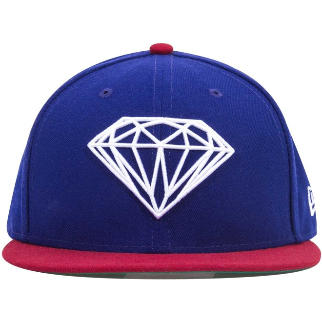kšiltovka DIAMOND - Brilliant Fitted Royal (ROY)