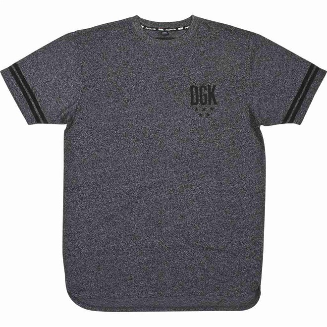 triko DGK - Never Enough Custom Black Heather (BLACK HEATHER)
