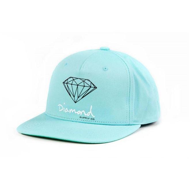 kšiltovka DIAMOND - Og Sign Snapback - Core Diamond Blue (DBLU)