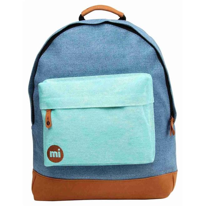 3ad2930d59a2e plecak MI-PAC - Denim Patch Denim Green (006)