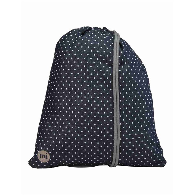 gymsack MI-PAC - Kit Bag Denim Spot Indigo/white (004)