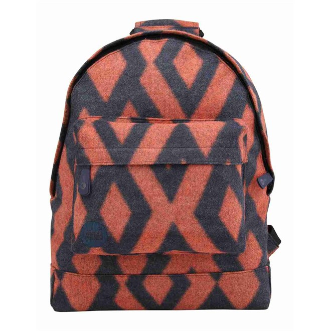 batoh MI-PAC - Diamond Felt Navy/orange (040)