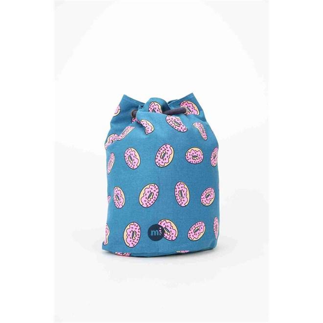 gymsack MI-PAC - Swing Bag Doughnut Navy (013)