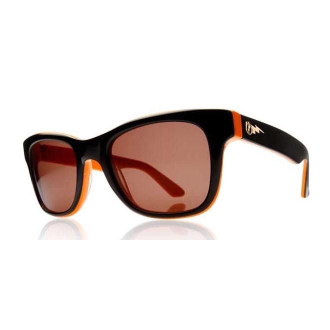 okulary przeciwsłoneczne ELECTRIC - Detroit Hemi-Orange/Bronze + case (HEMI-ORANGE)