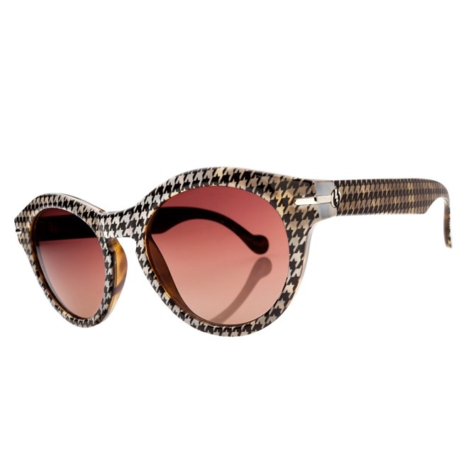 sluneční brýle ELECTRIC - Potion Houndstooth/Brown Grdnt + case (HOUNDSTOOTH)