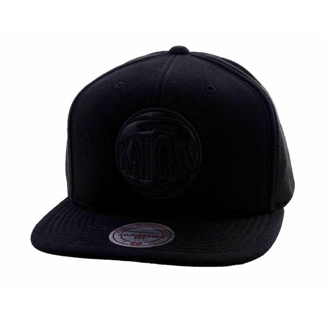 kšiltovka MITCHELL & NESS - Black Out Knicks (KNICKS)