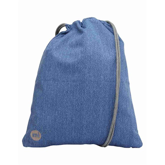gymsack MI-PAC - Kit Bag Elephant Skin Blue (002)