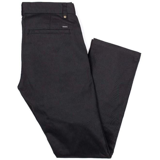 kalhoty BRIXTON - Reserve Chino Black 0100 (0100)