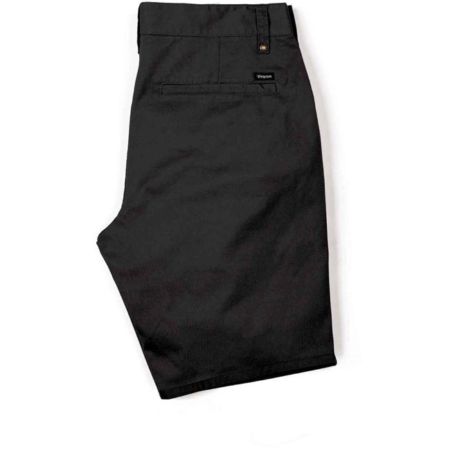 kraťasy BRIXTON - Carter Short Black (0100)