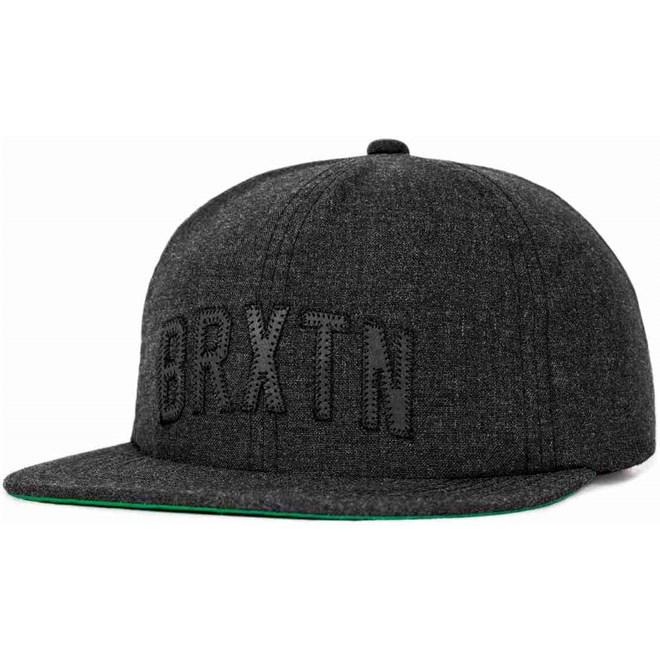 kšiltovka BRIXTON - Hamilton Cap Black Chambray (0118)
